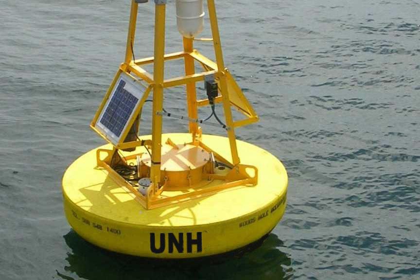 a yellow buoy