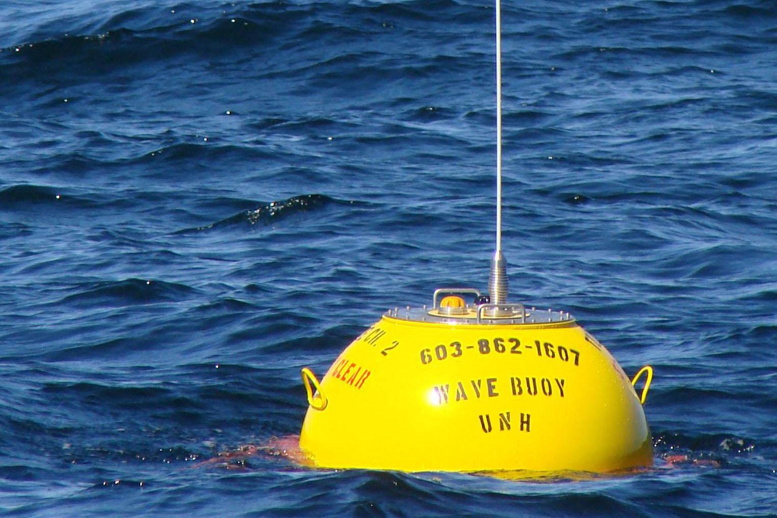 round yellow buoy