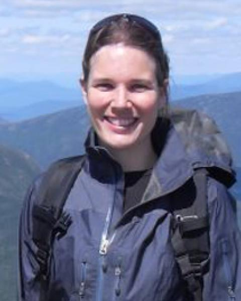 A headshot of Alix Contosta, research assistant professor in the Earth Systems Research Center.