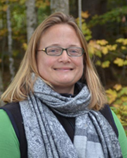 A headshot of Ruth Varner, director for the Earth Systems Research Center.