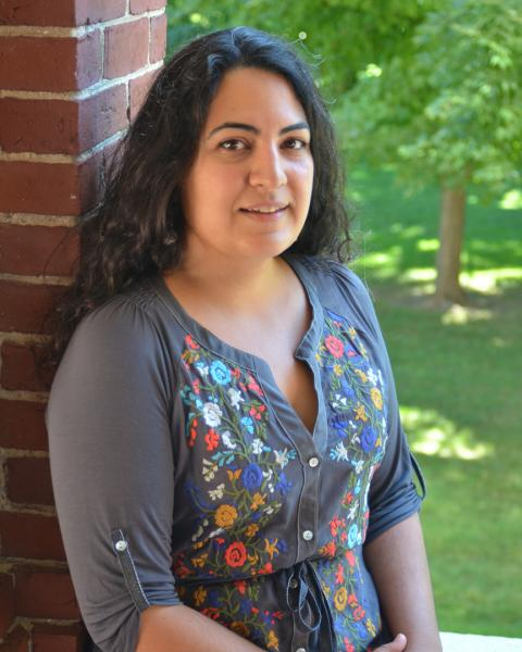 A headshot of Natalie Kashi, a graduate student in the Earth Systems Research Center.