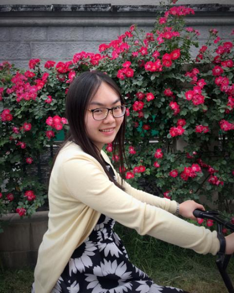 A headshot of Di Chen, a visiting scholar.