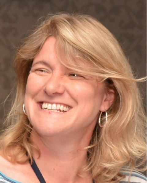A headshot of Jennifer L. Bourgeault, project director for GLOBE at the Earth Systems Research Center.