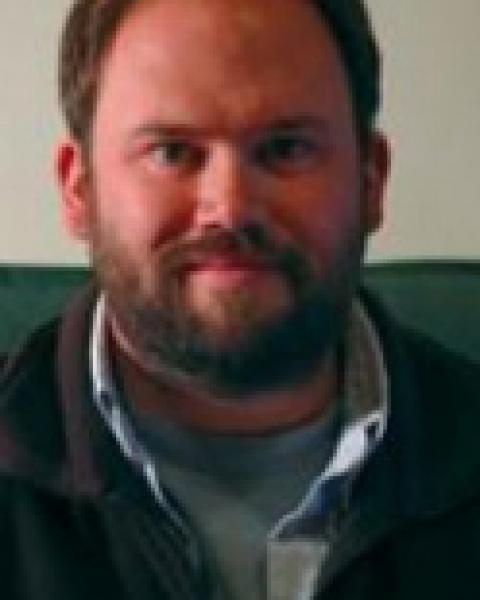 A headshot of Jamie Pringle, a professor in the Ocean Process Analysis Laboratory.
