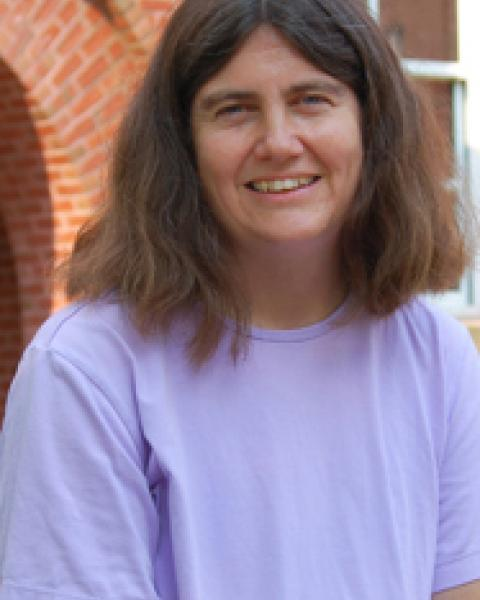 A headshot of Lynn Kistler, a professor in the Space Science Center.