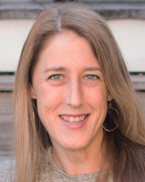 A headshot of Louise Chini, a visiting scholar.