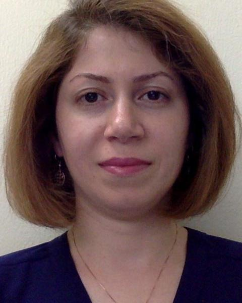 A headshot of Niloufar Nowrouzi, a graduate student with the Space Science Center.