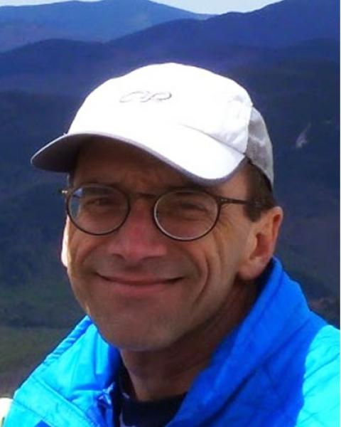 A headshot of Thomas Edward Milliman, a research scientist with the Earth Systems Research Center..