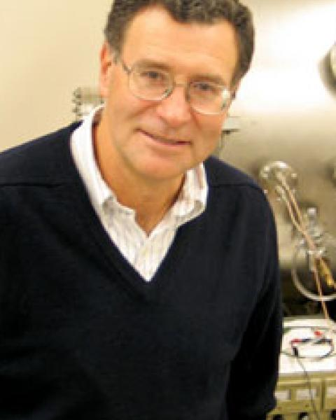 A headshot of Roy Torbert, a professor in the Space Science Center.