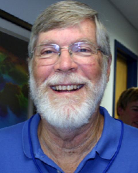 A headshot of Jim Gardner