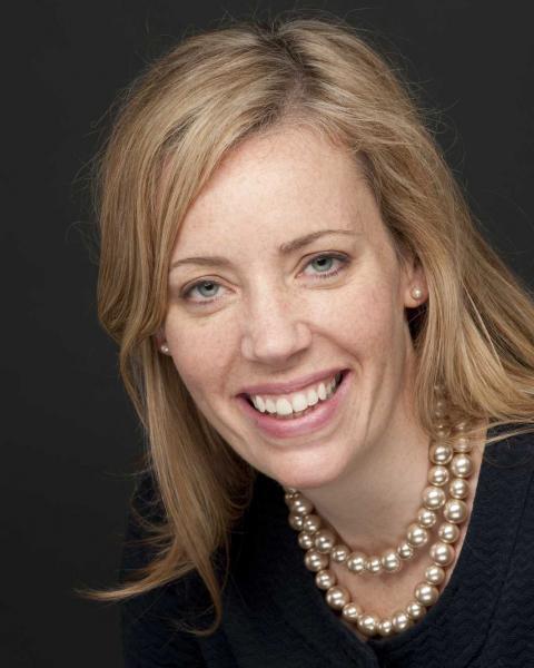 A headshot of Rachel Rouillard