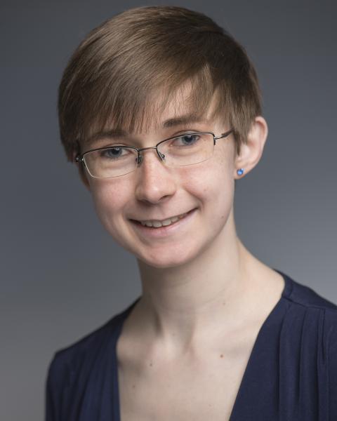 A headshot of Samantha Claussen