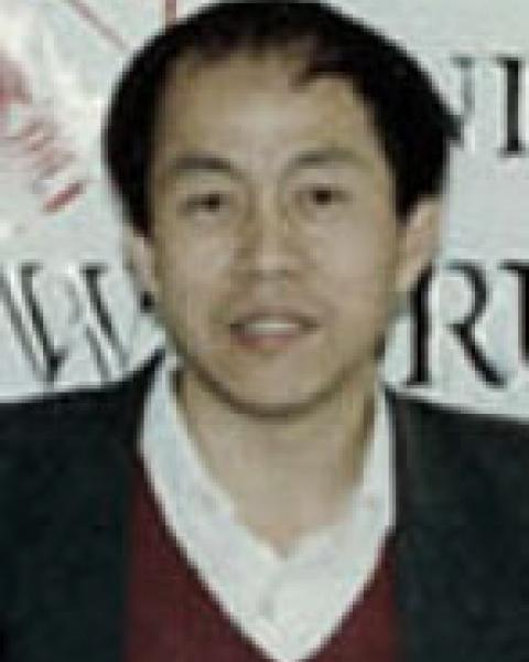 A headshot of Tianhang Hou
