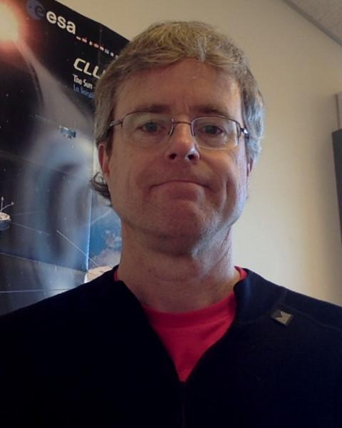 A headshot of Mark Chutter