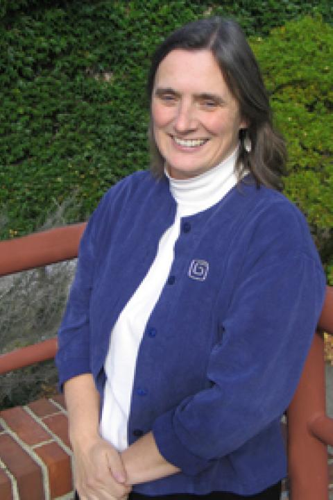 A headshot of Mary Martin, a research assistant professor with the Earth Systems Research Center.