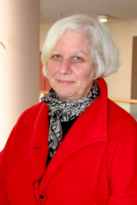A headshot of Fay Rubin, a project director for the Earth Systems Research Center.