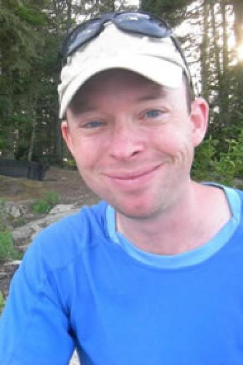 A headshot of Christopher Hunt, a research scientist with the Ocean Process Analysis Laboratory.