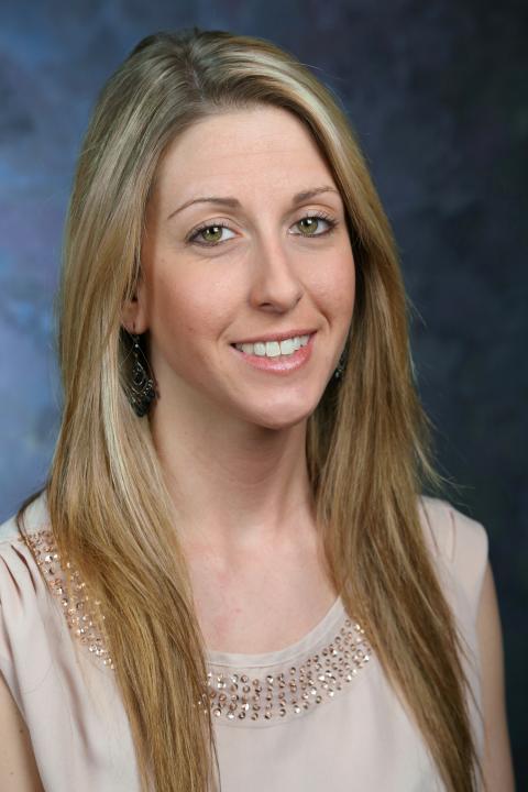 A headshot of Christine Schulz, a specialist with SwRI-EOS.