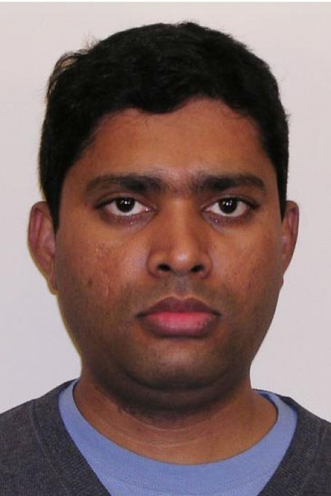 A headshot of Gopala Mulukutla, a research scientist with the Earth Systems Research Center.