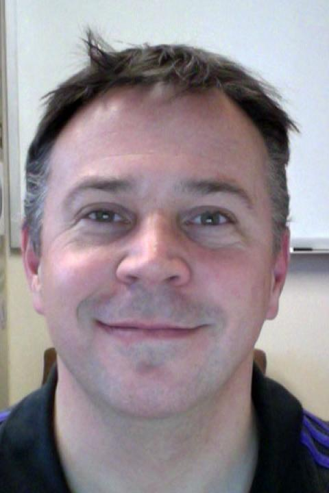 A headshot of Joe Souney, a research project engineer with the Earth Systems Research Center.