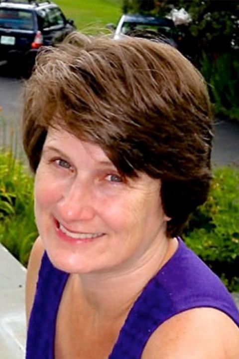A headshot of Katharine A. Duderstadt, a research scientist with the Earth Systems Research Center.