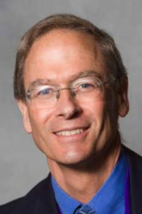 A headshot of Kim Earl Lowell, affiliate research professor with the Earth Systems Research Center.