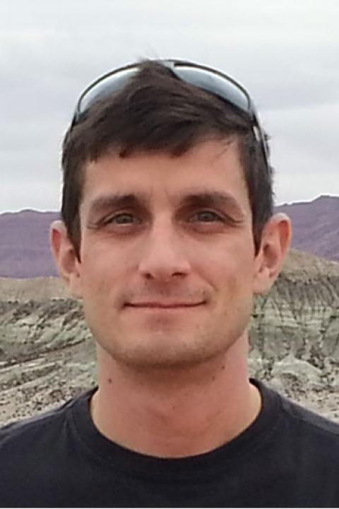 A headshot of Matt Vadeboncoeur, a research scientist with the Earth Systems Research Center.