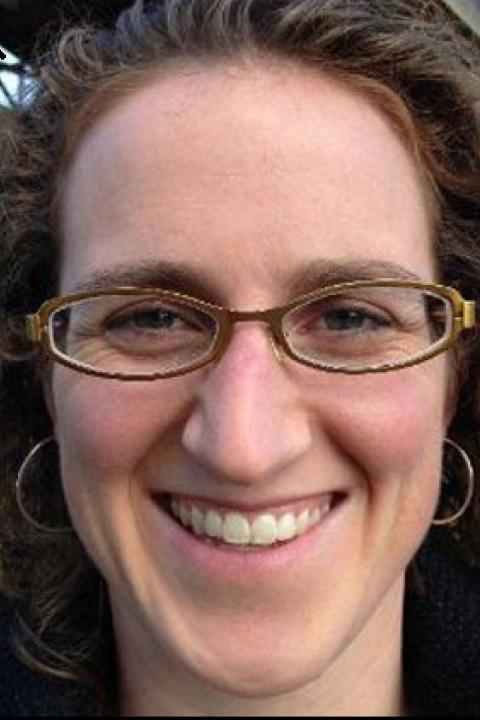 A headshot of Eleanor E. Campbell, a research scientist with the Earth Systems Research Center.