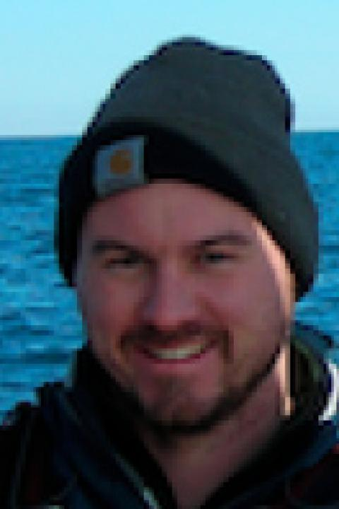 A headshot of Shawn Shellito, a research scientist with the Ocean Process Analysis Laboratory.