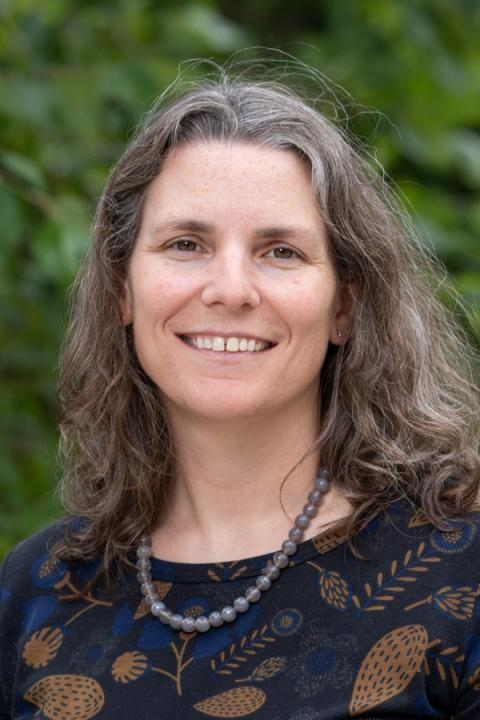 A headshot of Amy Keesee, an associate professor in the Space Science Center.