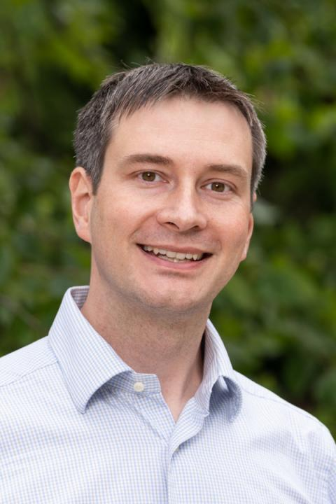 A headshot of Fabian Kislat, an assistant professor in the Space Science Center.