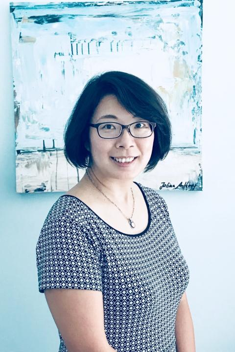 A headshot of Chia-Lin Huang, a research assistant professor in the Space Science Center.