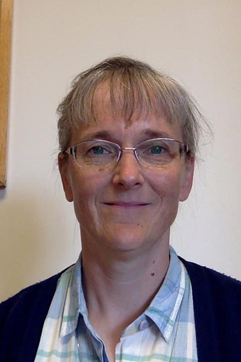 A headshot of Lorna Ellis