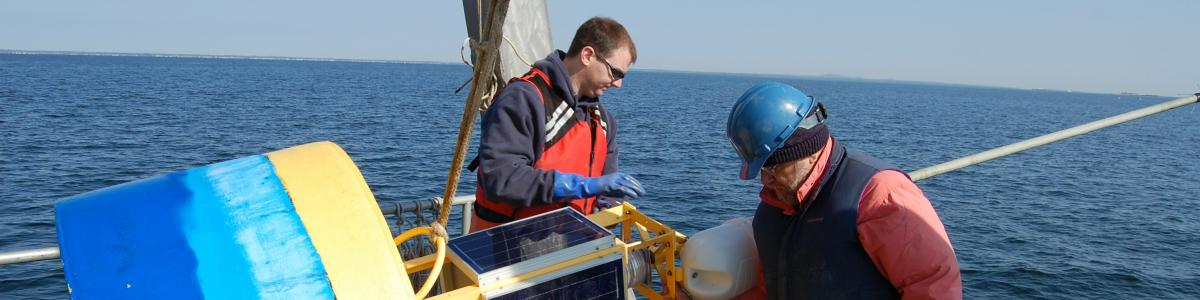 ocean observing and data collecting